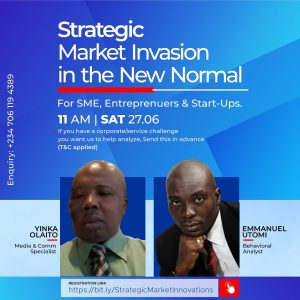 Strategic market Invasion conference in Lagos, Global strategic market Invasion conference in Lagos Nigeria, Yinka Olaito leads strategic market Invasion workshop in Lagos