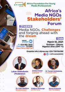 Africa Media NGOs stakeholders' conference Lagos 2021