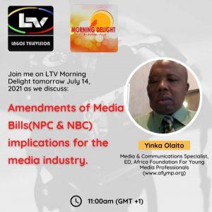 Yinka Olaito on Nigeria's